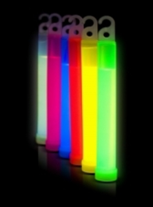 "100 x 6"" 15mm Individually Wrapped Glow Sticks"